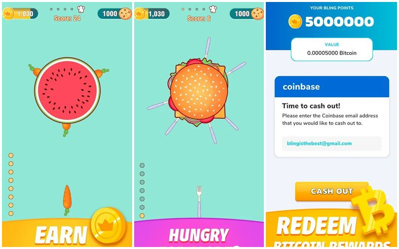 Bitcoin Kazandıran Oyun - Food Fight