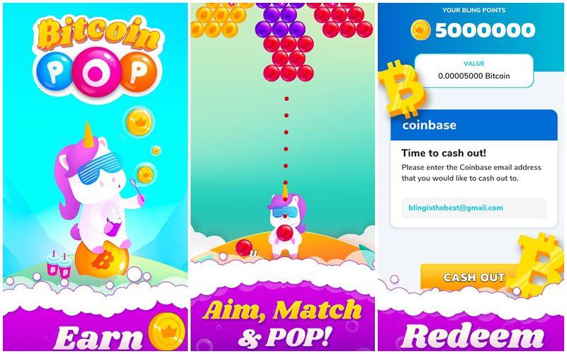 Bitcoin Kazandıran Oyun - Bitcoin Pop